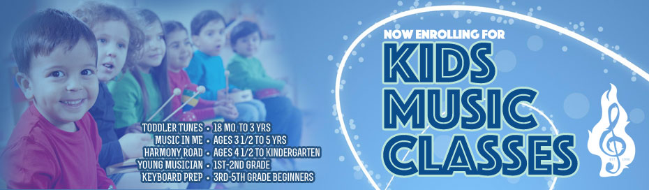 Enroll now for Kids Music Classes!
