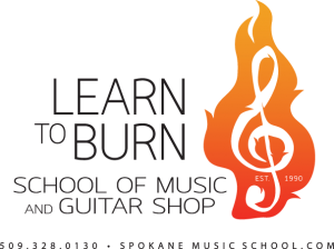 Learn To Burn -Spokane Music School and Music Store